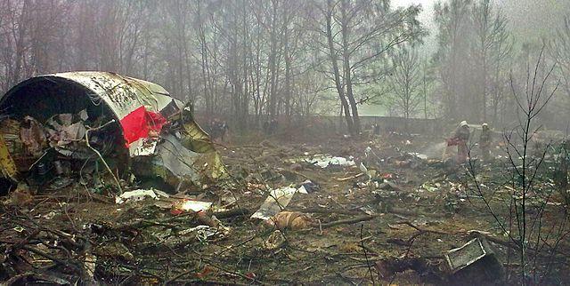 Katastrofa w Smoleńsku.Fot.: Bartosz Staszewski/ CC by-SA/ www.prsteam.net.