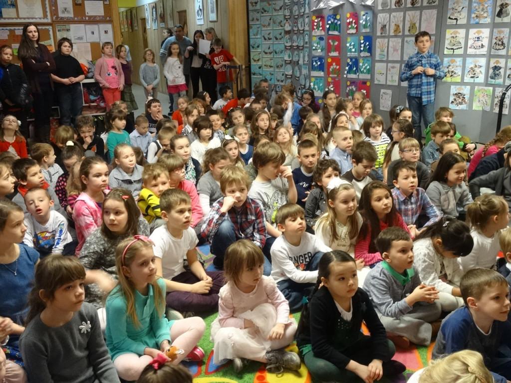 Święconka w szkole św. Cyryla i Metodego