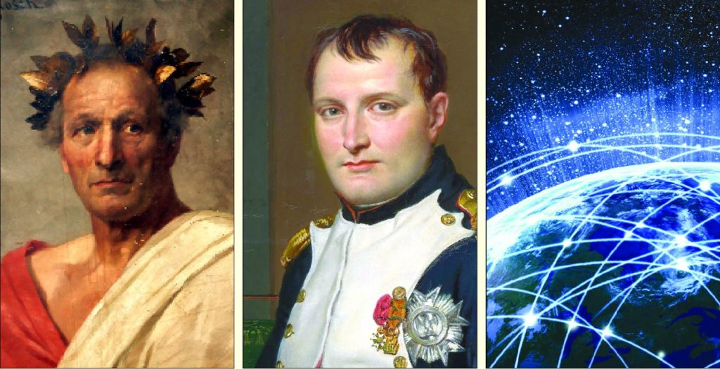 Cezar i Napoleon chodzili na skróty, a teraz chodzi internet.