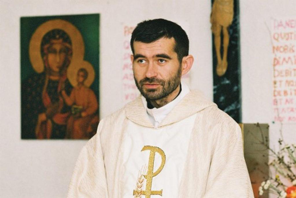 Ks. Jarosław Wiśniewski. Foto archiwum