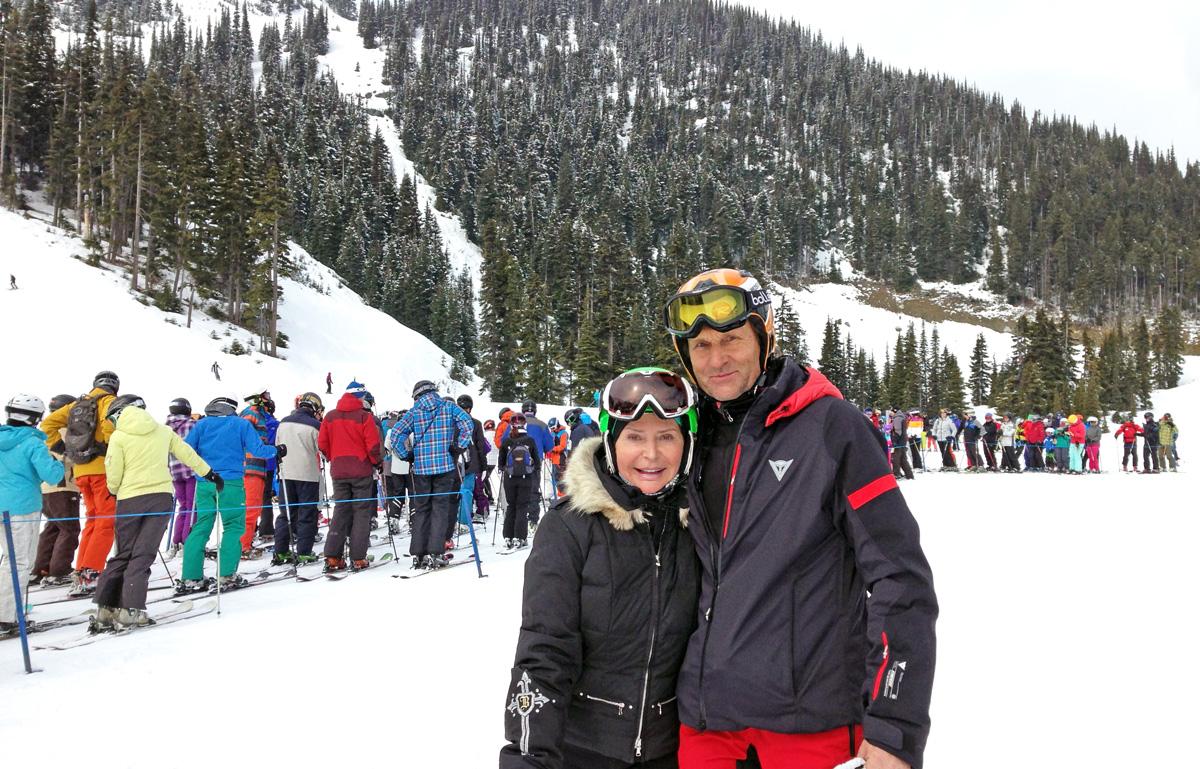 Karol Kloc z żoną Grace. Foto: Archiwum rodzinne