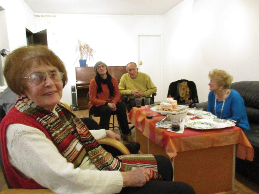 Jagoda Przybylak z przyjaciółmi w redakcji Kuriera Plus