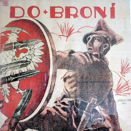 Polski plakat rekrutacyjny z 1920. Foto: Domena publiczna via commons.wikimedia.org